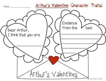 Arthur's Valentine: Language Arts Activities {Common Core Aligned}