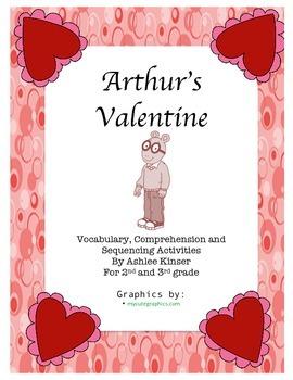 Arthur's Valentine by Marc Brown - Comprehension, Sequenci