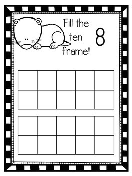 Artic Animal Ten Frames