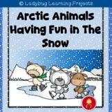 Arctic Animals Having Fun in The Show - Emergent Reader Set
