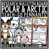 Polar Animals & Arctic Animals Research Project  • Teach- Go Pennants™