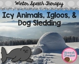 Winter Speech Therapy Unit {Games Activities Lesson Plans Factual Unit}