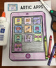Artic Apps! Speech Therapy Craft Activity