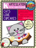 Artic BOOM Cards:  Cats Love Cupcakes Game, Initial K