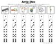 Artic Dice 1: /K, G, F, V/ Articulation Practice for Speech Therapy