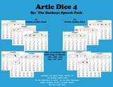 Artic Dice 4: /S, Z/ & /S/ Blends Articulation Practice for Speech Therapy