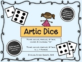 """Artic Dice Game - mixed """"th"""", /s, l, r/ blends"""