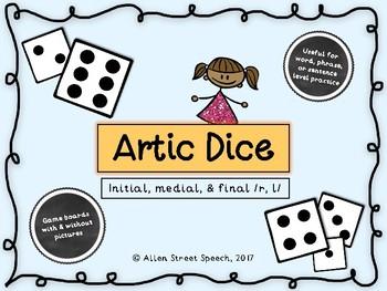 Artic Dice Game - /r, l/