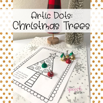 Artic Dots: Christmas Trees