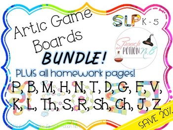 All the Potions for Artic Game Boards: Bundle