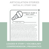 Articulation Stories Speech Therapy - Initial /r/