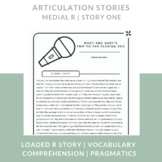 Articulation Stories Speech Therapy - Medial /r/