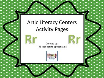 Artic Literacy Centers Activity Pages for R