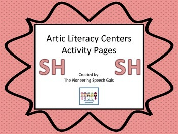 Artic Literacy Centers Activity Pages for SH