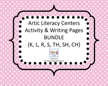 Artic Literacy Centers Activity & Writing Page BUNDLE