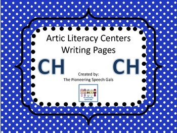Artic Literacy Centers Writing Pages For CH