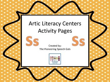Artic Literacy Centers Activity Pages For S