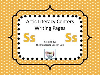 Artic Literacy Centers Writing Pages for S