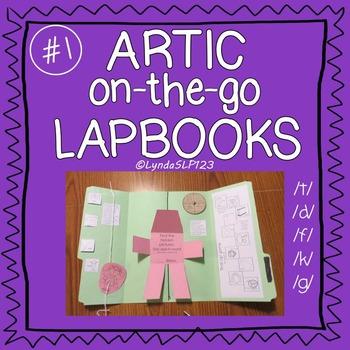Artic On-the-Go Lapbooks #1 (targeting /t/, /d/, /k/, /g/, /f/)