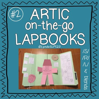 Artic On-the-Go Lapbooks #2 (targeting /S/, /R/, /L/ and blends)