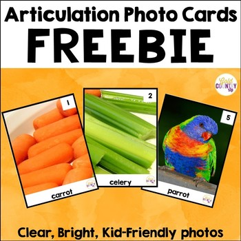 Articulation Photo Cards - FREEBIE