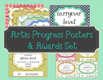 Artic Progress Posters & Awards Set