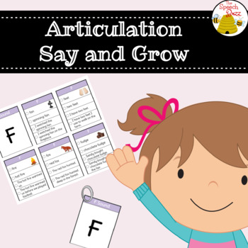 Articulation Say and Grow