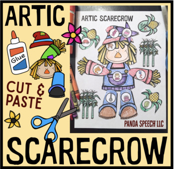 Artic Scarecrow Speech Therapy Craft Activity