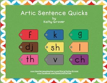 Artic Sentence Quicks