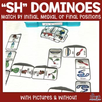 """Artic """"Sh"""" Dominoes"""