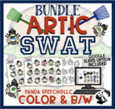 Artic Swat BUNDLE: Articulation Activity for Speech Therapy + Digital Options