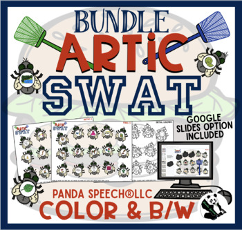 Artic Swat BUNDLE: Articulation Activity