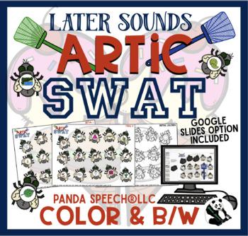 Artic Swat Later Sounds: Articulation Activity