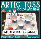 Artic Toss FREEBIE (initial & final /g/) for Speech Therapy