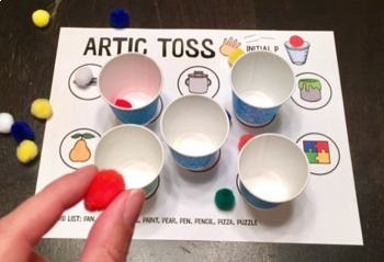 Artic Toss for Speech Therapy
