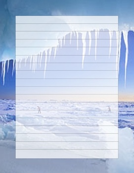 Artic Writing template