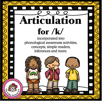 Articulation for /k/ in Phonemic Awareness Activities