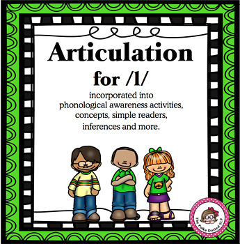 No Prep Articulation Activities and More for /L/