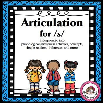 Articulation for /s/ in Phonemic Awareness Activities