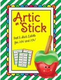 Artic on a Stick /SH/ and /CH/