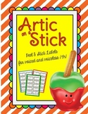 Artic on a Stick Voiced and Voiceless /TH/
