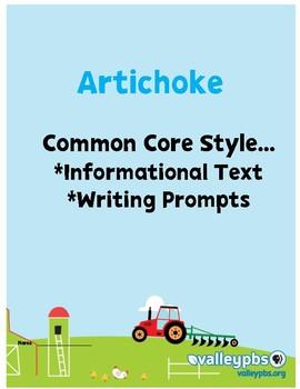 Artichokes: Close Reading PRINT & GO!