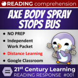 Article 001: Axe Body Spray stops school bus! Distance Lea