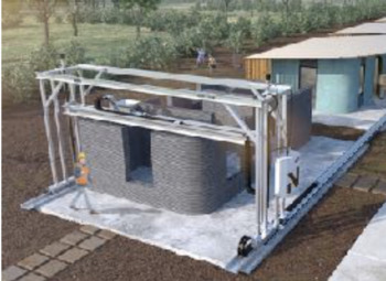 Article: 3-D printing homes: Search and Find, state test questions, cite info