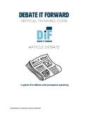Article Debate
