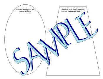 Article Graphic Organizer:  Literacy Directed Reflective Practice