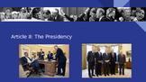 Article II: The Presidency