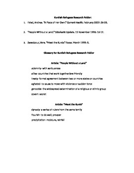 EngageNY Module Article List and Glossary