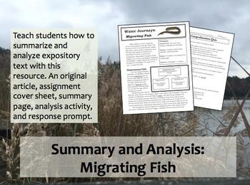 Article Response Migrating Fish
