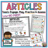 Article Scoot : teaching poster/anchor chart, 10 cards, pr